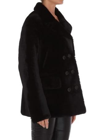 Yves Salomon Lamb Coat