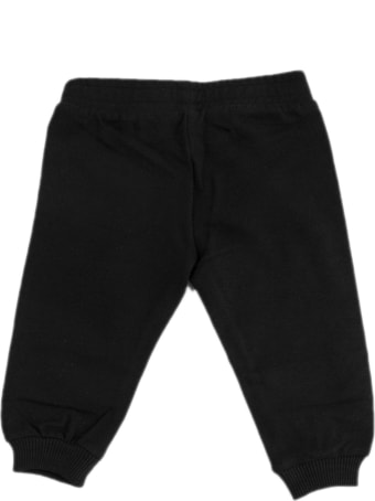Moschino Black Cotton Tracksuit Pant