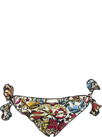 MC2 Saint Barth Tattoo Print Girl's Slip