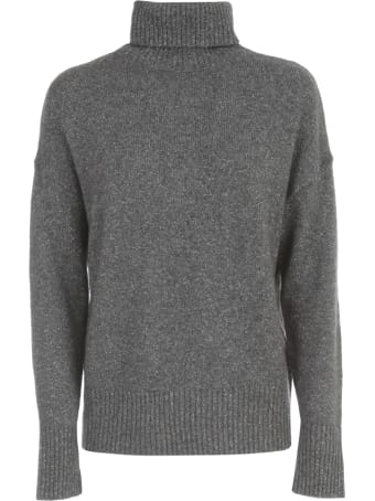 Seventy Oversized Lurex Sweater Turtle Neck