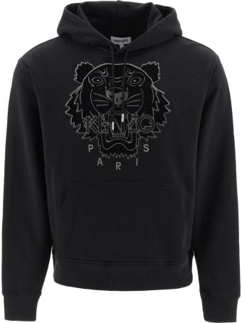 Kenzo Hooded Sweatshirt Tiger