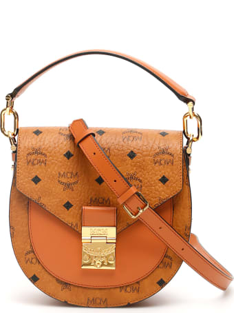 MCM Visetos Patricia Shoulder Bag
