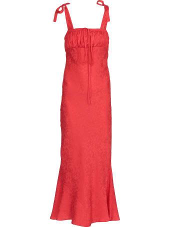 WANDERING Long Damasque Dress