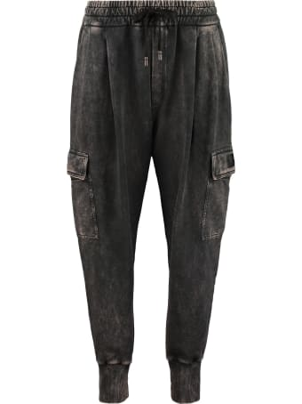 Dolce & Gabbana Stretch Cotton Track-pants