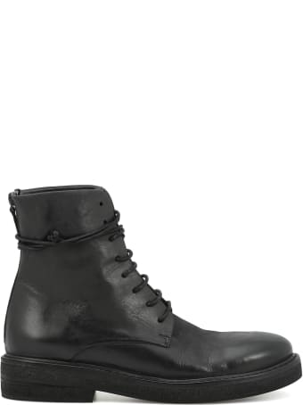 Marsell Leather Army Boot