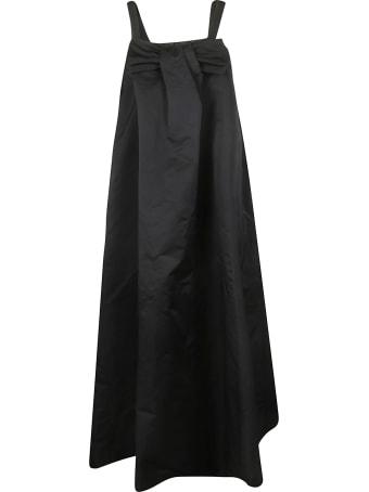 Rochas Front Bow Detail Sleeveless Dress