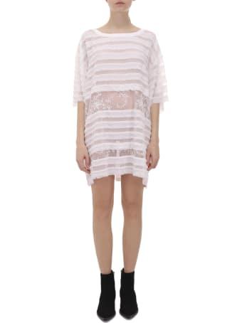 Faith Connexion White T-shirt Dress