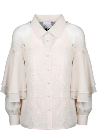 Edward Achour Paris Lace Shirt