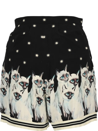 Undercover Jun Takahashi Undercover Painted Cat Shorts