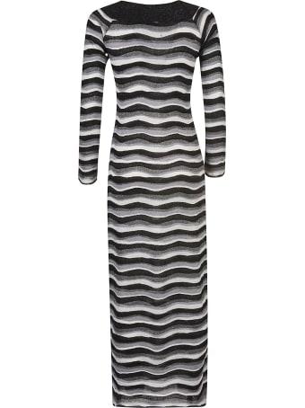 Emilio Pucci Wave Striped Dress