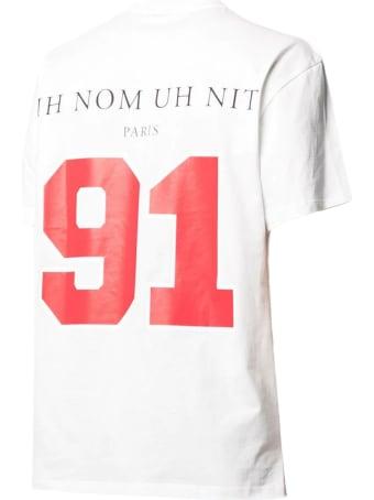 ih nom uh nit White Cotton T-shirt