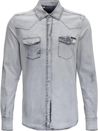 Dolce & Gabbana Gray Jersey Shirt