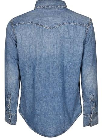 Calvin Klein Buttoned Denim Shirt