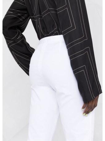 Fabiana Filippi White Cotton Pants