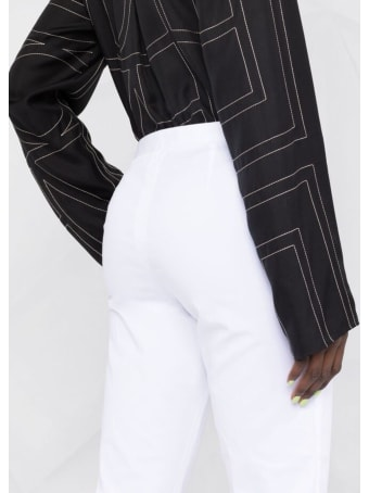 Fabiana Filippi Garment Dyed Gabardine Pants