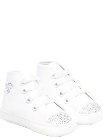 Miss Blumarine White Sneakers