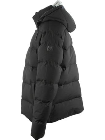 Moose Knuckles Black Quilted Down Jacket