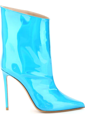 Alexandre Vauthier Hologram Blue Alex Boots