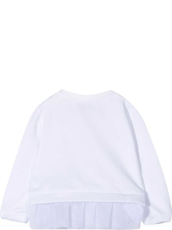 Moschino White Sweatshirt