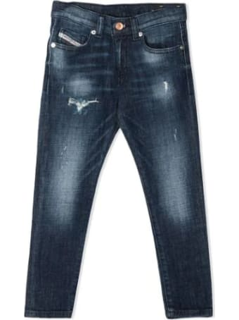 Diesel Jeans With Lightened Effect