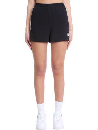 Fila Badu Shorts In Black Cotton