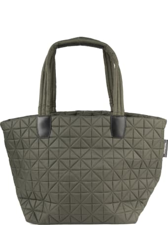 VeeCollective Quilted Effect Nylon Tote Bag
