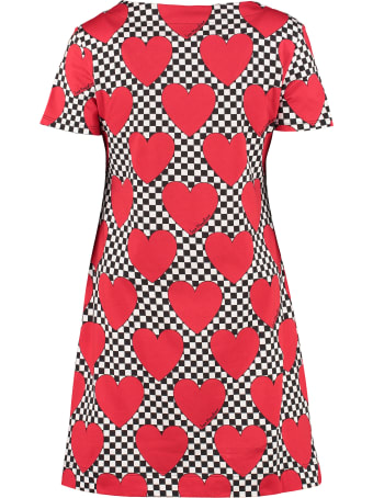 Love Moschino Patterned Cotton Dress