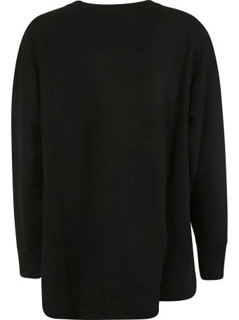 Moschino Bottom Logo Print Sweatshirt