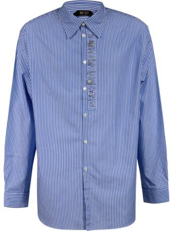 N.21 Embellished Stripe Shirt