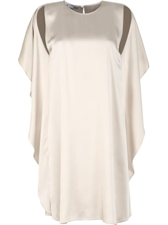 Stella McCartney Crêpe Envers Satin Dress