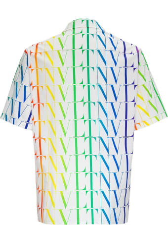 Valentino Vltn Times Multicolor Jersey Shirt
