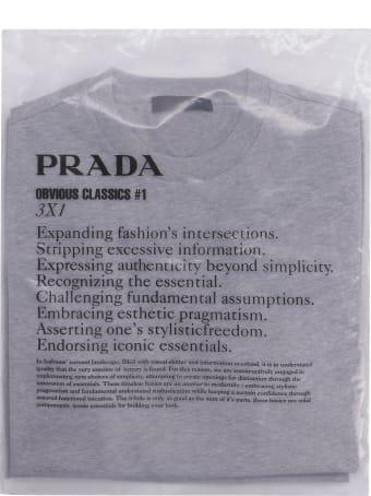 Prada Three Cotton T-shirt Multipack