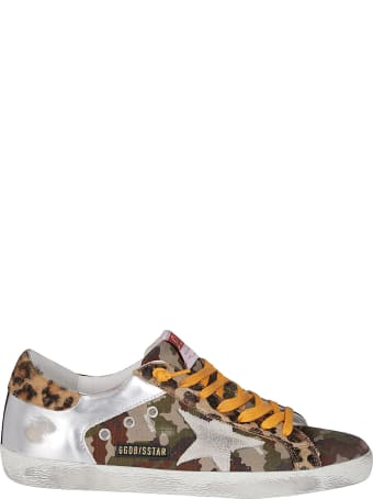Golden Goose Multicolor Leather Superstar Sneakers