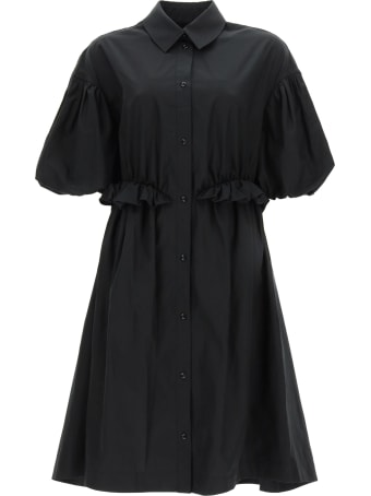 Simone Rocha Oversized Shirt Dress Twisted Hip