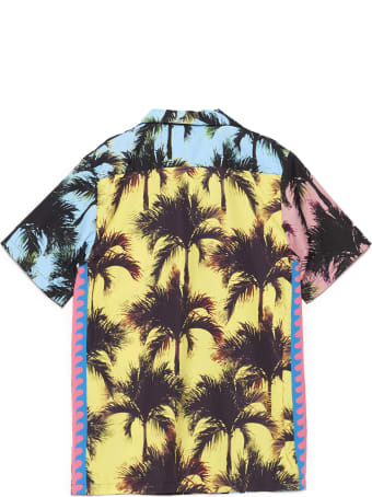 Just Don 'palm Print' Shirt