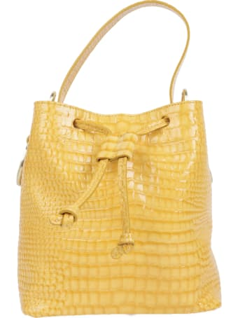 Tara Zadeh Yellow Croco Lila Bag
