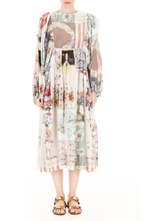 Scrambled Ego Patchwork Dress