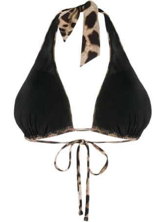 Dolce & Gabbana Animaler Bikini Bra