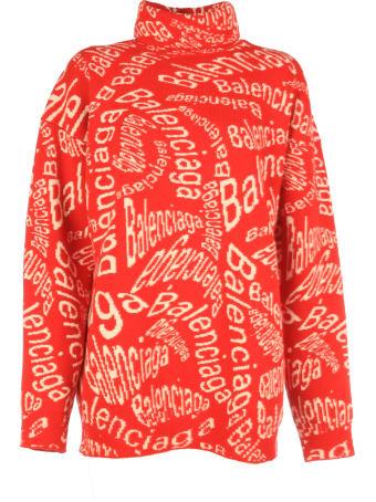 Balenciaga Turtleneck Long Sleeves Sweater