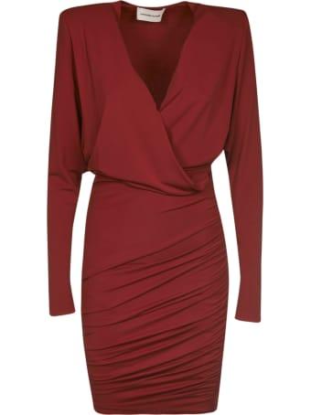 Alexandre Vauthier Slim V-neck Dress