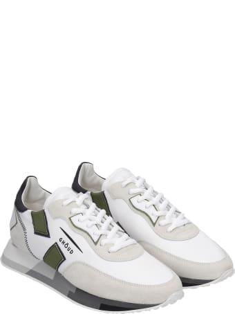 GHOUD Rush Sneakers In White Synthetic Fibers