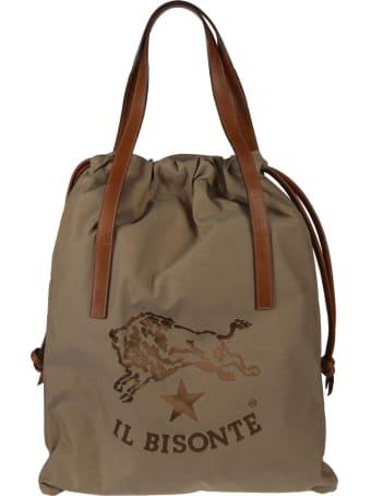 Il Bisonte Logo Bucket Bag