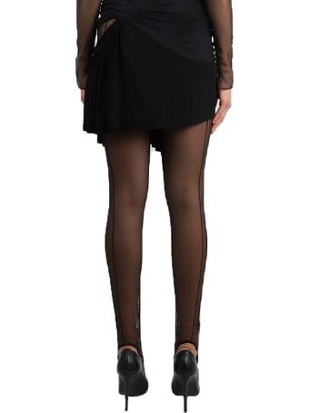 Nensi Dojaka Black Circle Skirt