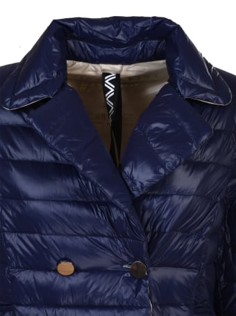 Violanti feather light jacket, double-breasted
