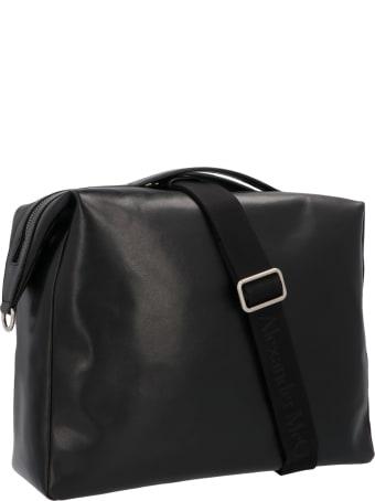 Alexander McQueen Logo-patch Tote Bag
