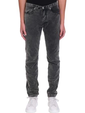 Massimo Alba Pants In Grey Cotton