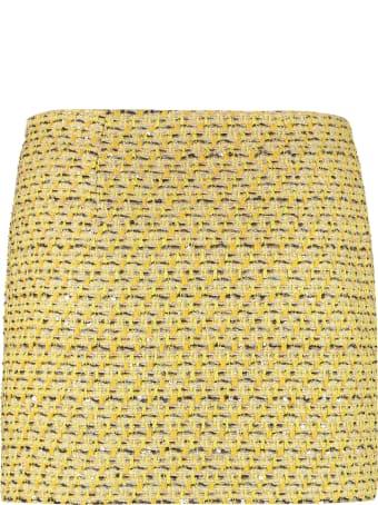 Alessandra Rich Tweed Mini-skirt