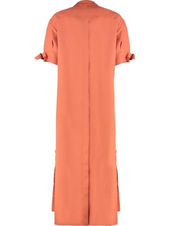 Agnona Linen-blend Tunic-dress
