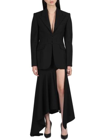 Thierry Mugler Asymmetric Long Skirt