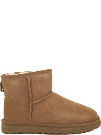 UGG Mini Classic Ii Chestnut Boots
